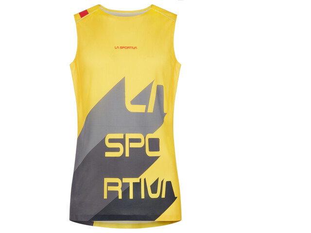 La Sportiva Vert Tank Men yellow/carbon